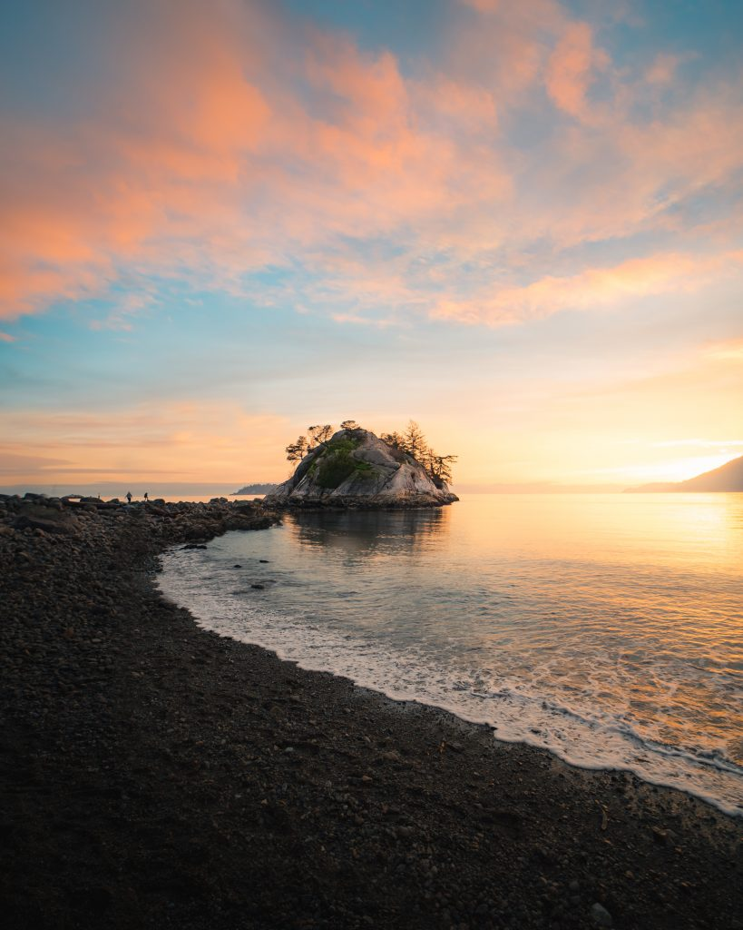 Sunset at Whytecliff Park, Vancouver, Canada