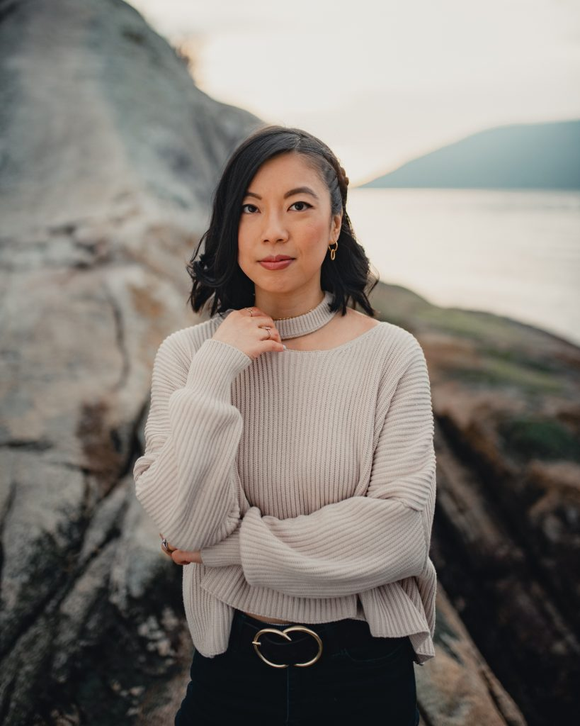 Whytecliff Park portrait photoshoot